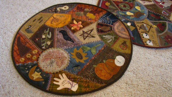 So unique, been wanting to work on a crazy quilt project. This one could be within my abilities.