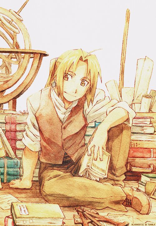 FMA. FULLMETAL ALCHEMIST. ANIME.  ED ELRIC.  Pinned by Stephy Sama