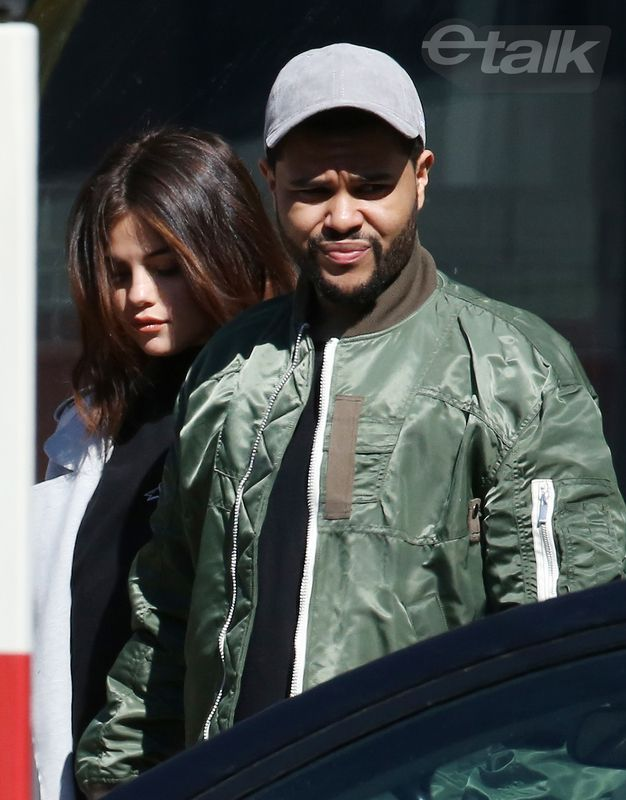 March 16: Selena leaving Thompson Toronto Hotel in Toronto, Canada