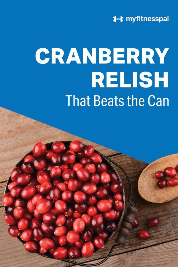 Cranberry Relish That Beats the Can