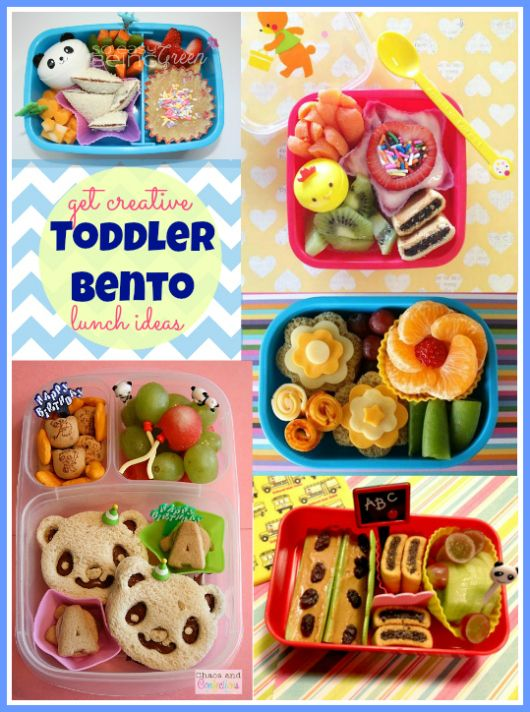 Need some new ideas for lunch time? Check out these totally doable toddler bento lunch ideas!