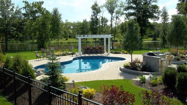 Lagoon Swimming Pool In Ground Pools Built By