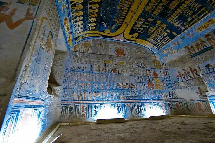 Tomb of Ramses V and VI, Valley of the Kings Egypt Posted by: Mahmoud Yousef