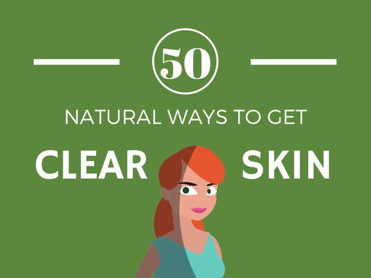 Get 50+ natural tips for getting clear skin. Easy DIY steps you can use today for great skin with a natural glow (#40 is WOW). Free eBook included.