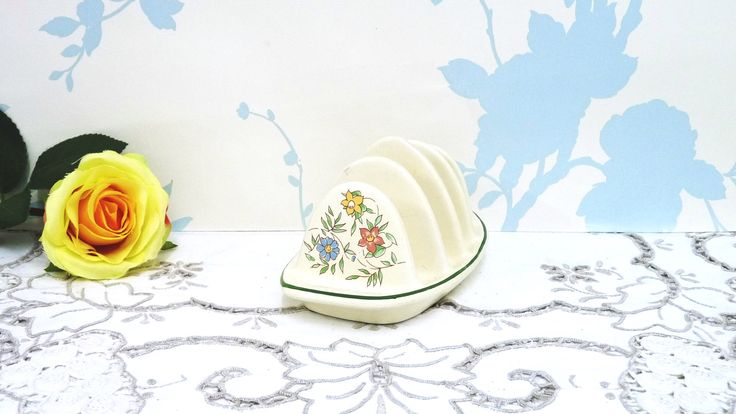 Toast Rack, Toast Holder, BHS, Country Garland Design, British Home Stores, Made in England, Sadler Pottery, Dinnerware, Tableware by KitschandCollectable on Etsy https://www.etsy.com/uk/listing/566182387/toast-rack-toast-holder-bhs-country