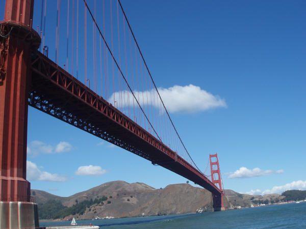 El Puente Golden Gate en San Francisco, EE.UU