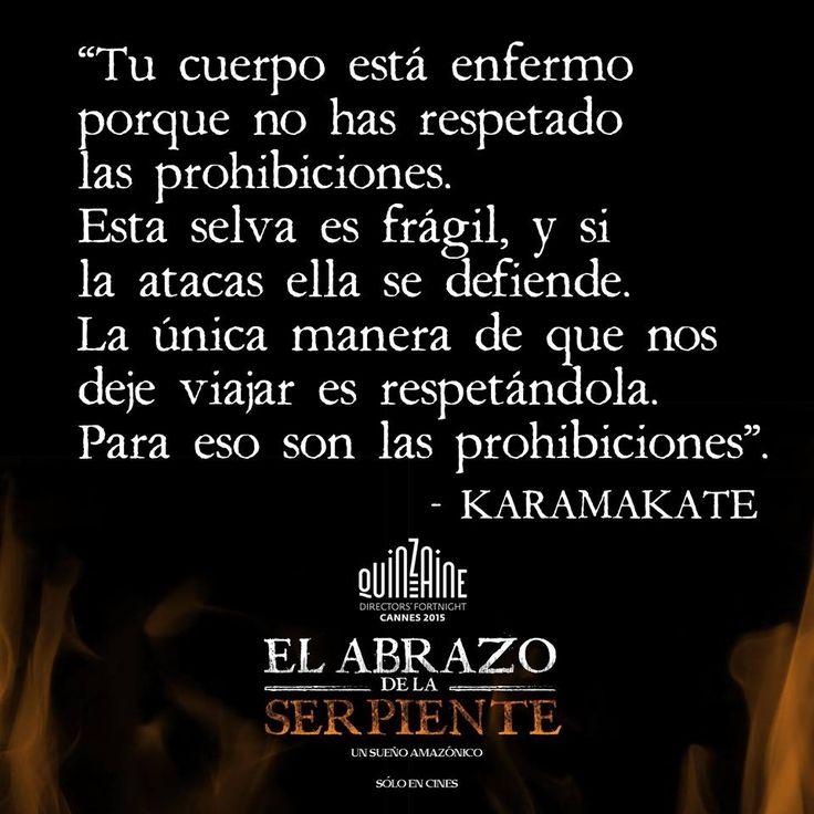 El Abrazo de la Serpiente. Karamakate