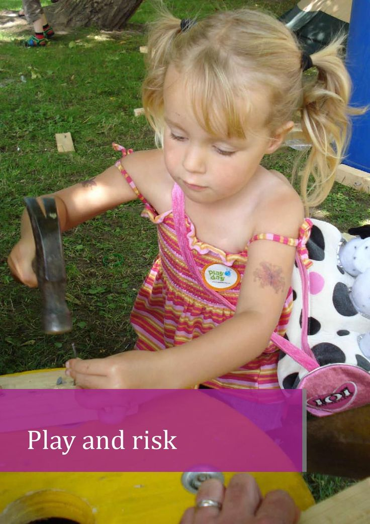 This information sheet aims to set out why a balanced, thoughtful approach to managing risksin children's play is needed. It also aims to give an overview of risk-benefit assessment, whichis widely accepted as a suitable approach. The information sheet is aimed at all those who havean interest in children's play, including educators, playworkers, providers and managers of playfacilities, health and safety professionals, risk managers, decision makers and parents.