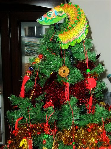 Chinese New Year Tree from Julie K. In Tawan