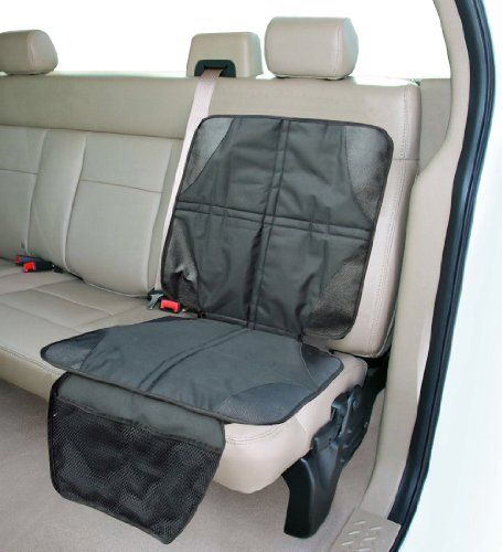 Car Seat Protector - This Luxury Car Seat Protector Mat Will Instantly Keep Your Leather or Cloth Back Seat Clean From Scuffmarks Left By Your Kids Feet, Stains Or Spills - Custom Designed With a Super Anti-Slip Backing To Stop Your Baby's Car Seat From Slipping Which Makes Sure Your Baby is Safe at All Times - This Car Seat Protector Comes With a Lifetime NO-Hassle Free Replacement Guarantee!