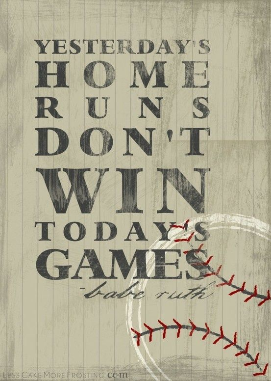 Babe Ruth, 50 years old but still so true!