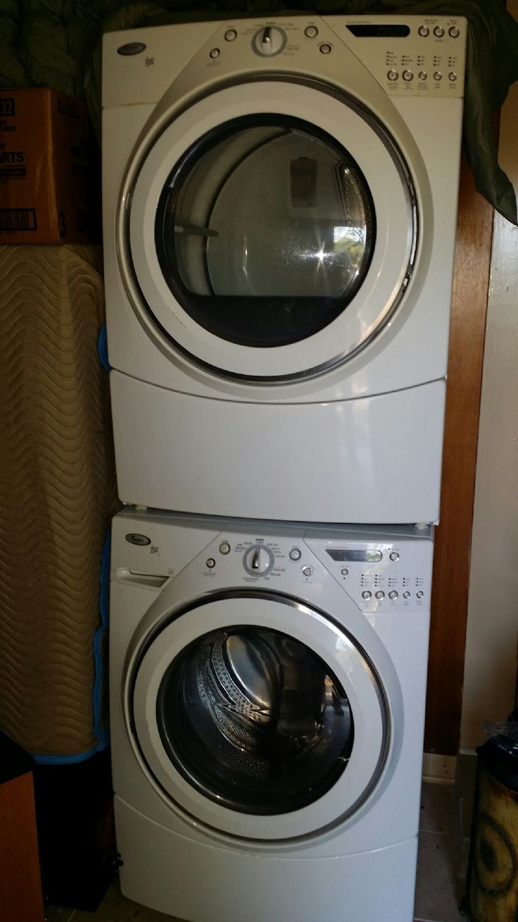 Whirlpool Washer And Dryer Stackable