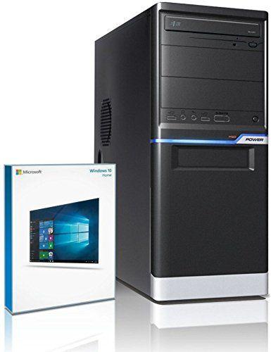 Shinobee PC Gamer / Multimédia – Unité centrale pour ordinateur de bureau (Processeur AMD A8-6500 4 x 3.5MHz, 4.1MHz en mode Turbo –…
