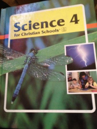 Things creationist textbooks teach.  God help us all (yes, I'm aware of the irony in saying that).