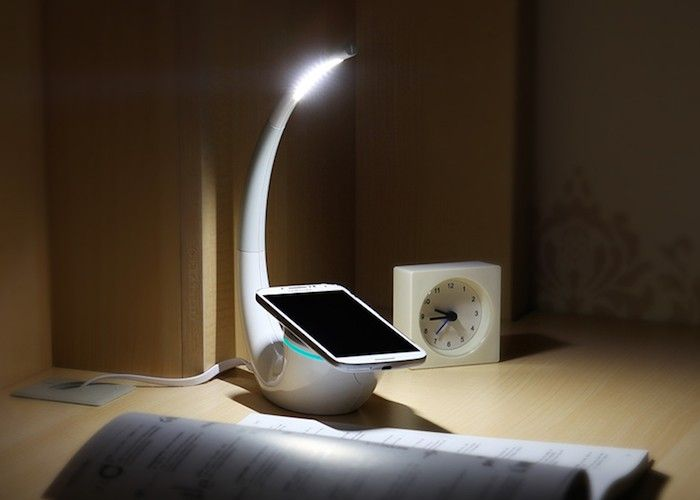 Vintage NILLKIN Phantom QI Standard Wireless Charger LED Table Lamp for Samsung Edge LG Nokia Motorola Etc TVC Mall online wholesale store features cell phone