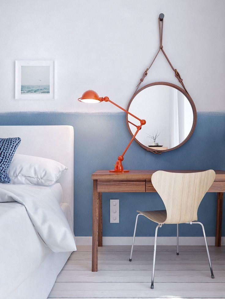 Feather Pillow vs. Cotton Pillow. Scandinavian Interior DesignBedroom ...
