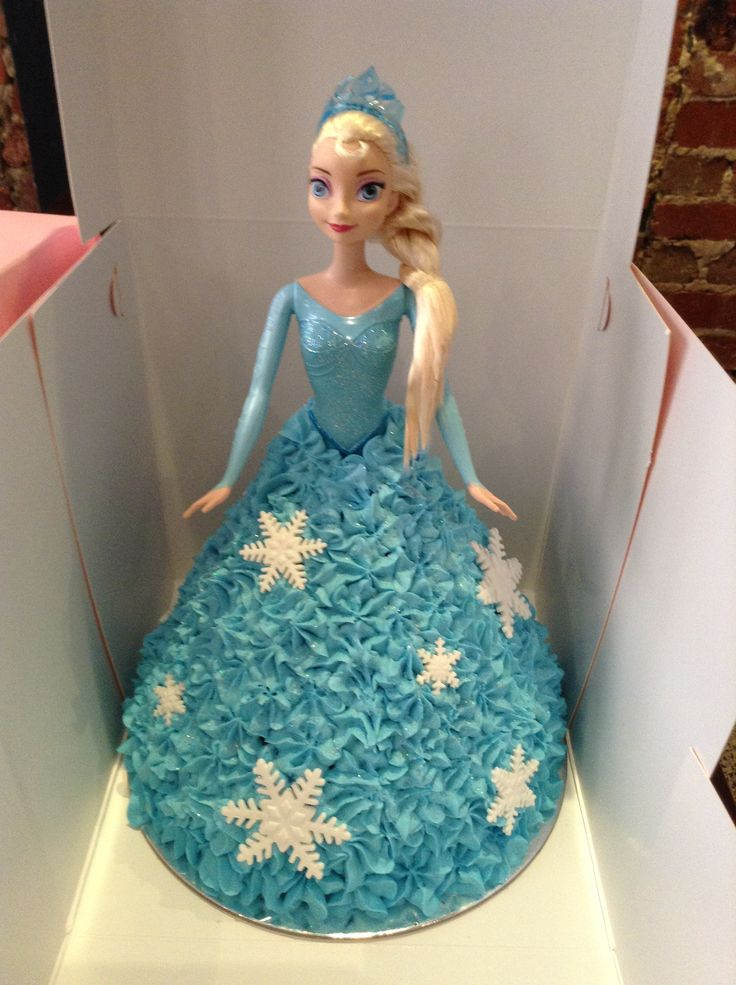 Elsa! This Elsa Dolly Varden Cake is still so popular with the little ones!