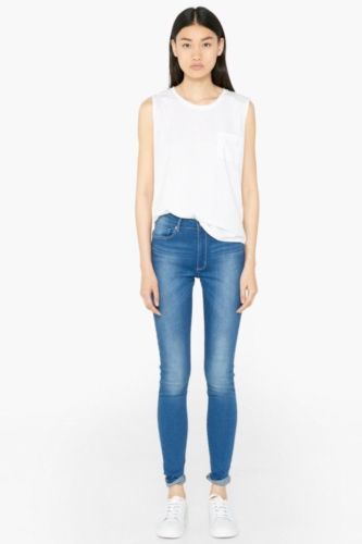 WOMENS-LADIES-MANGO-NOA-HIGH-WASITED-SKINNY-JEANS-BNWOT-RRP-29-99-SIZE-6