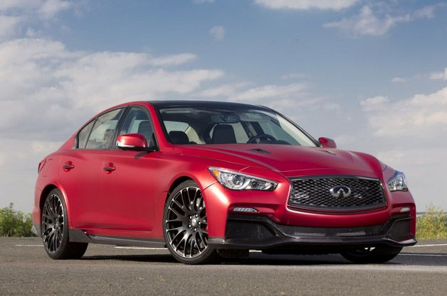 2016 Infiniti Q50 Eau Rouge Prototype  Making The Case To Build A Brand-Defining Sports Car