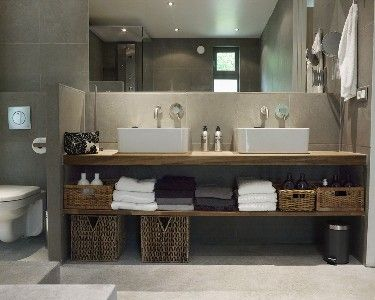 Bathroom in concrete