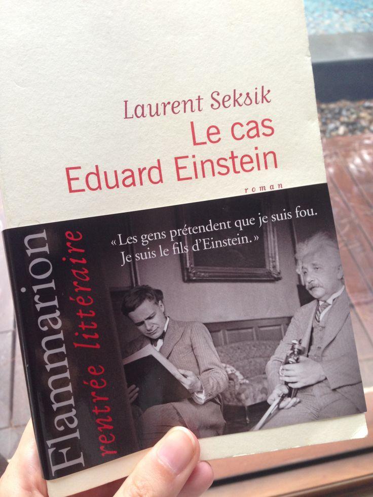 Laurent Seksik - Le cas Eduard Einstein : e suis fascinée par les personnalités complexes. La norme m'ennuie. Ce que j'aime, ce sont les gens à part, au cerveau si différent qu'ils en paient le prix. Ils me fascinent parce que leurs pensées sont ailleurs et leur vie, trouble. Je les vois comme des espèces de génies non reconnus. Un peu comme Eduard Einstein...
