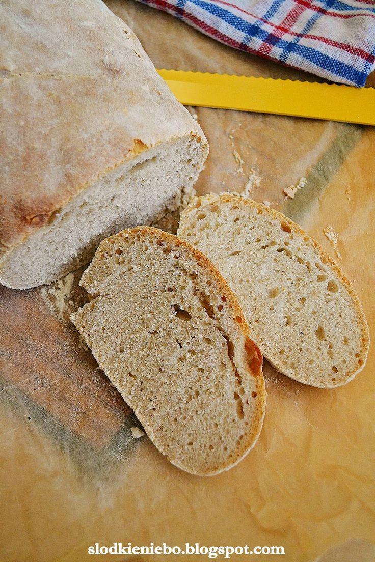 Słodkie niebo: Chleb pszenny na zakwasie żytnim i drożdżach