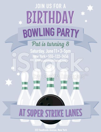 31 best Party Invitation Templates images on Pinterest Party - bowling flyer template free