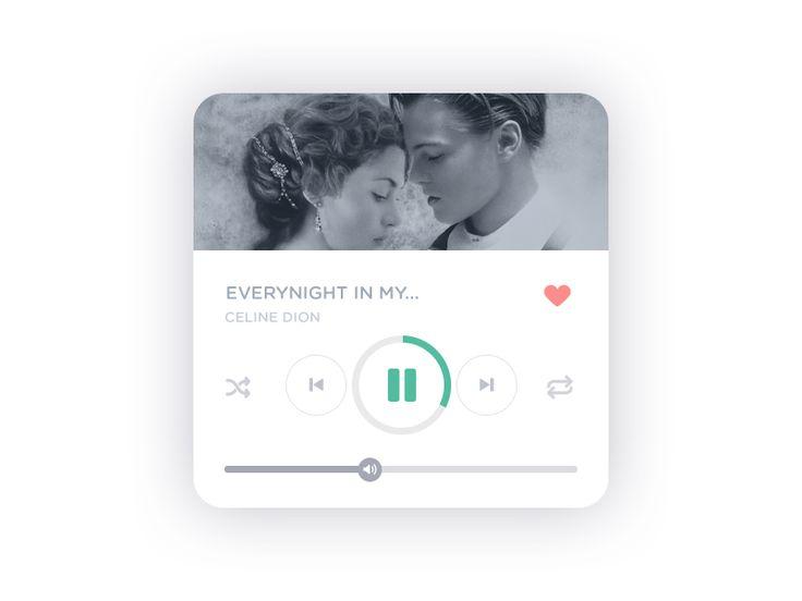 Music Player - Daily UI :: 009
