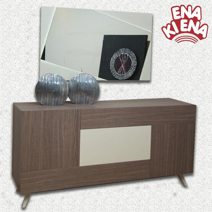 Μπουφές Αφροδίτη Αν σας αρέσουν τα μοντέρνα έπιπλα και ο μινιμαλισμός, ο μπουφές Αφροδίτη αξίζει μια θέση στο σαλόνι σας!