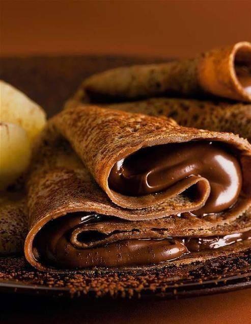 Chocolate pancake