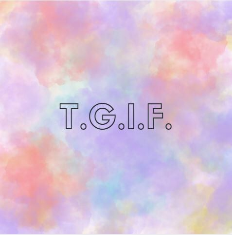TGIF EVERYONE!!! I am so happy it's Friday. I am totally mentally exhausted. This crummy rainy weather is definitely harshing my mood.  With this rainy weather we've been having t…