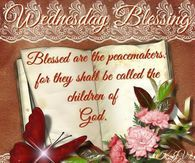 Wednesday Blessings Mathew 5:9