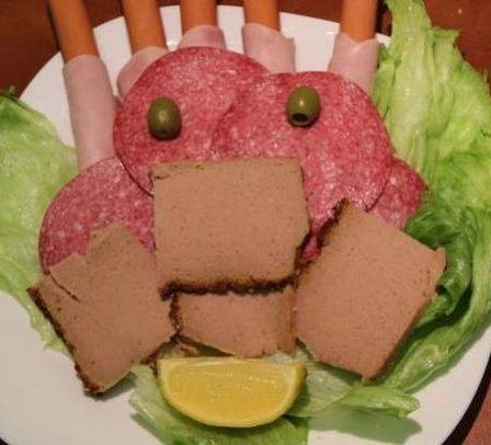 Mięsny jeż.