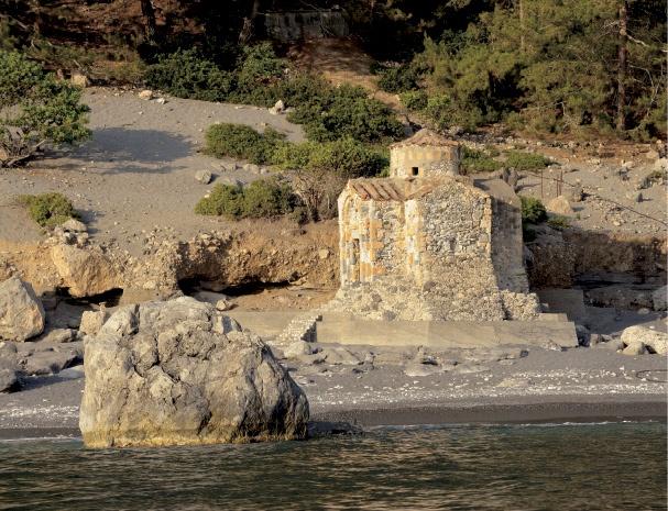 Αγία Ρούμελη: Το ξωκλήσι του Αγίου Παύλου  Agia Roumeli: Agios Pavlos chapel    Crete