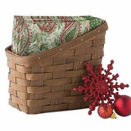 Longaberger Tall Napkin Basket / Protector - 4 Colors **NEW**