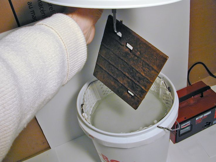 Clean Metal Remove Oxidation or Paint From Metal How to