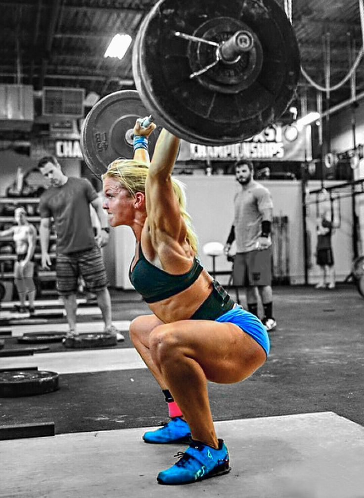POWER & TECHNIQUE of muscle babe, Crossfit athlete & #Fitness model Brooke Ence