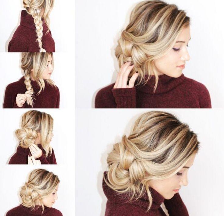 10 peinados paso a paso con trenzas al lateral para enamorar a todos - TKM United States