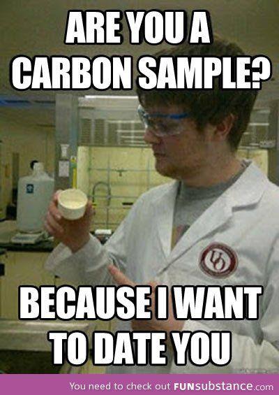 Scientific pick up line