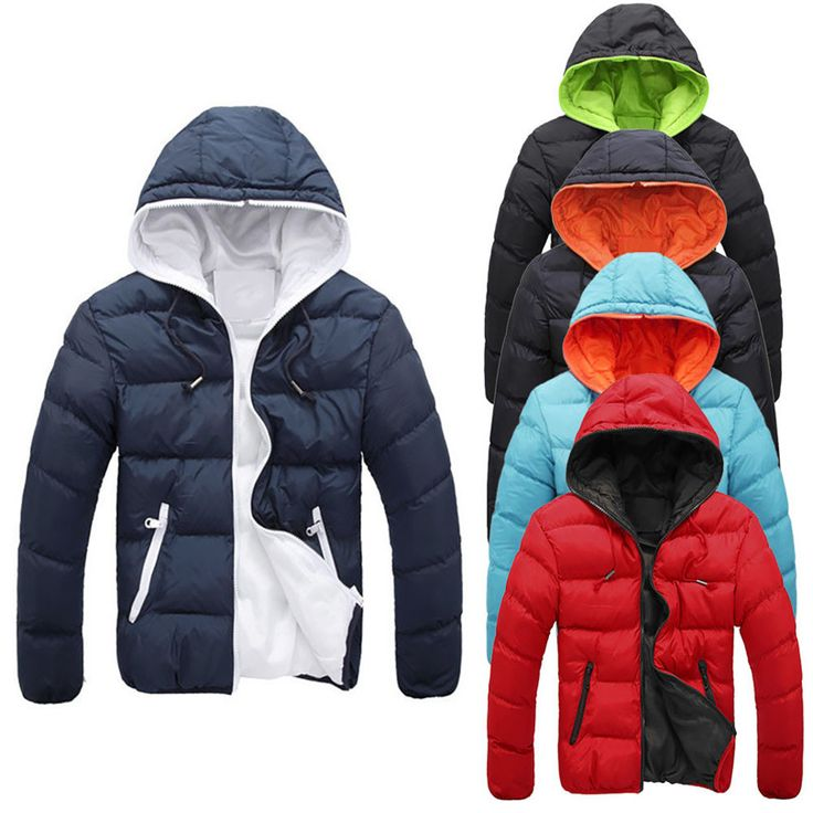 Durable 2016 hot down coat winter jacket men PLUS SIZE Men's Slim Casual Warm Jacket Winter Thick Coat Parka Overcoat Hoodie #>=#>=#>=#>=#> Click on the pin to check out discount price, color, size, shipping, etc. Save and like it!