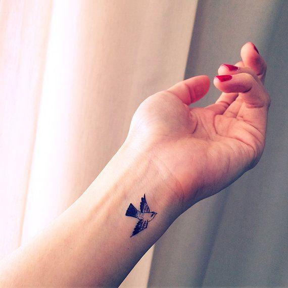 Small Sparrow Tiny Bird Tattoo