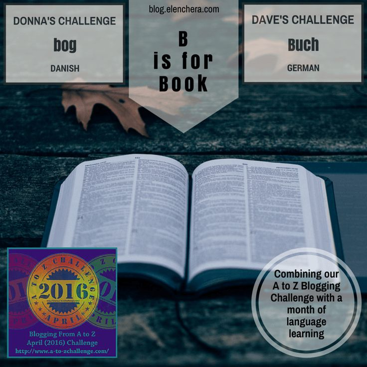 A to Z Blogging Challenge: B is for Book #atozchallenge