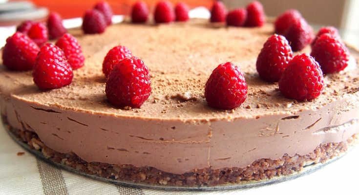 Taivaallisen hyvä suklaa raakakakku