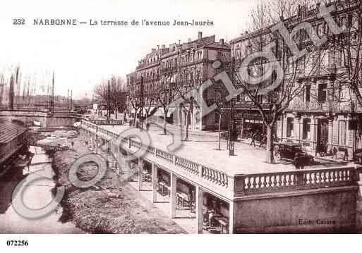 Image issue du site Web http://www.cartes-et-patrimoine.com/images/2/2/photos-carte-narbonne-aude-PH012522-B.JPG