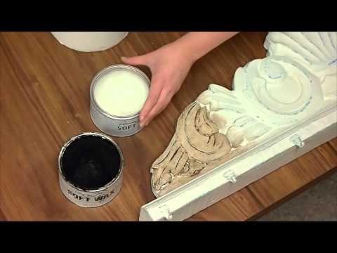 Druga nasza video-lekcja o tym jak utrwalac farbe Chalk Paint decorative paint by Annie Sloan.  Zastosowanie wosku lub lakieru.