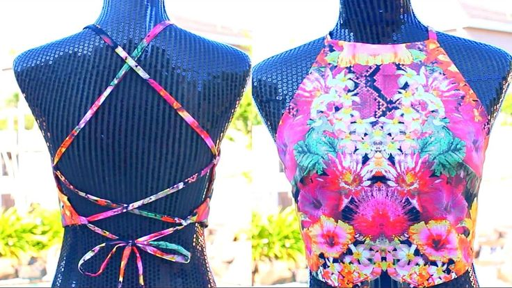 DIY Backless Halter Top | Tashalala
