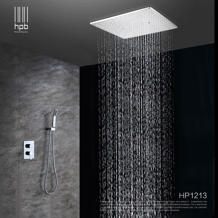 cheap rain shower head. HPB Brass Bathroom Hot and Cold Water Mixer Ceiling Mounted Shower Head  Bath Rain Set Best 25 mounted shower head ideas on Pinterest