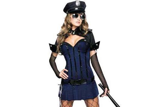 Костюм полицейской на хеллоуин