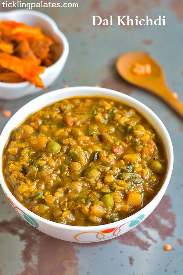 Dal Khichdi Recipe In Pressure Cooker
