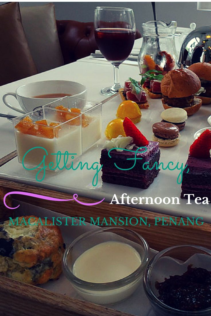 We spent a lovely afternoon eating a fabulous afternoon tea in Georgetown, Penang in Malaysia. The tradition of high tea is alive and well in Penang.